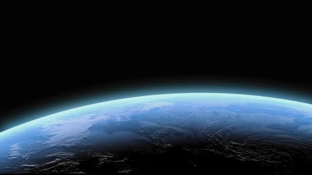 Satellitenbild der Erde bei Nacht