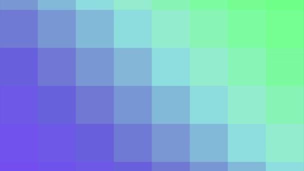 bunte pixelige Gradienten-Animation