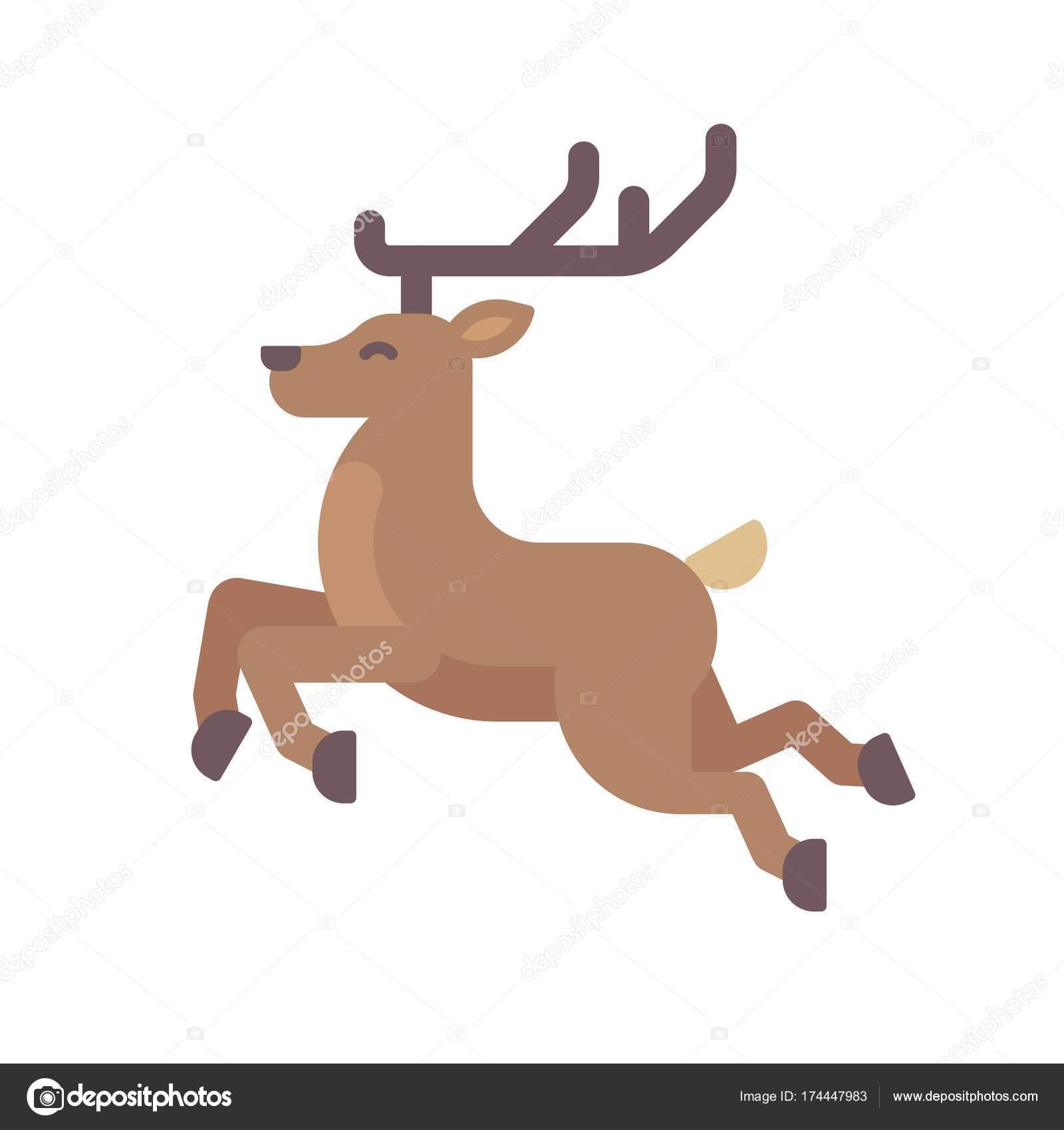 Rocking Horse Flat Illustration Toy Horse Christmas Present Flat Icon Stock Vector C Ivandubovik 174447983