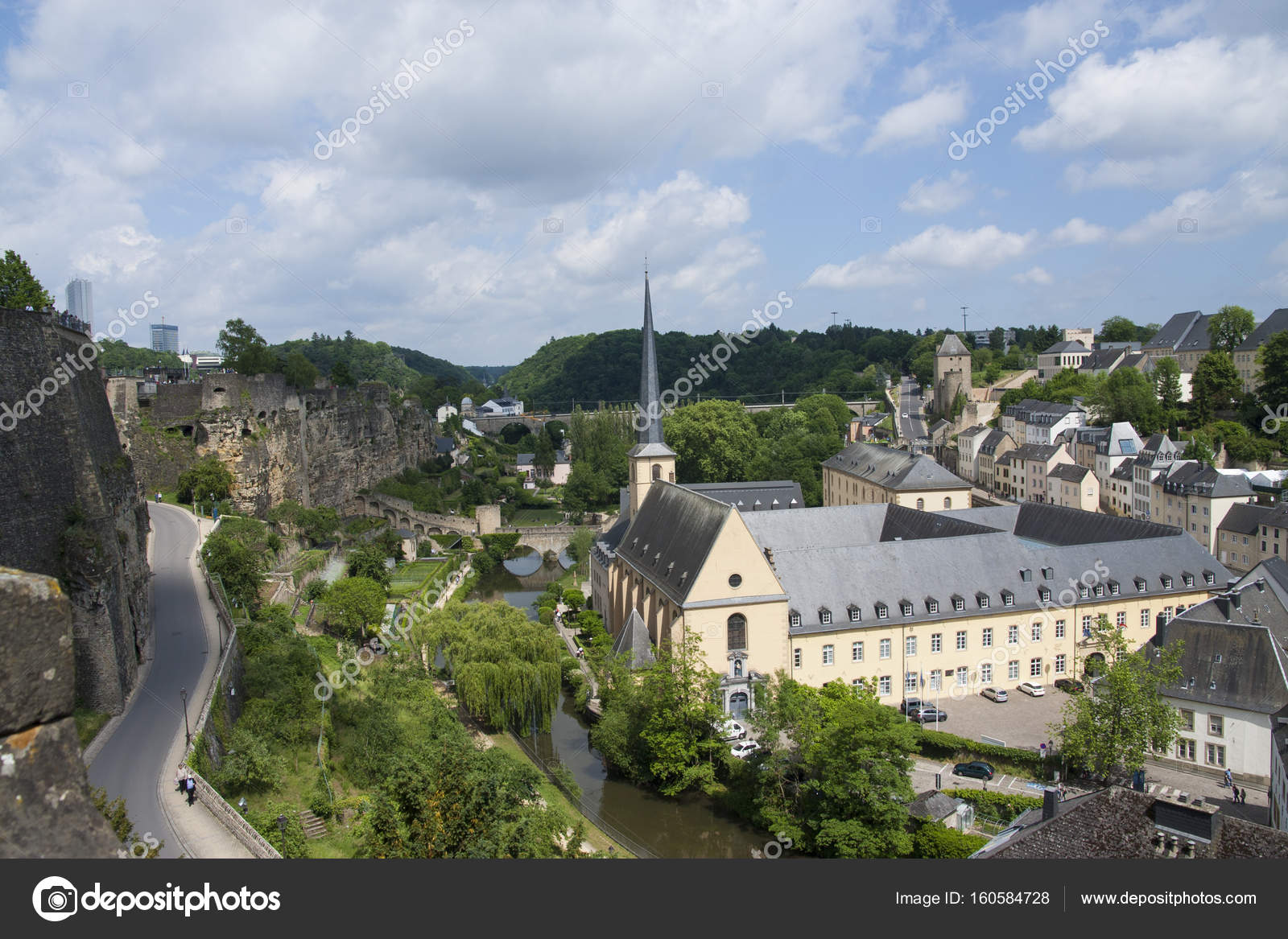 Neumunster abbey in luxembourg city stock photo tinarayna 160584728 neumunster abbey in luxembourg city stock photo thecheapjerseys Images