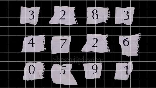 grafikon papír-számok