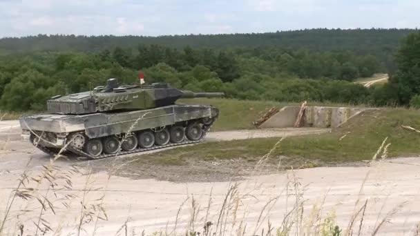 royal danish army leopard 2 tanks at grafenwoehr germany