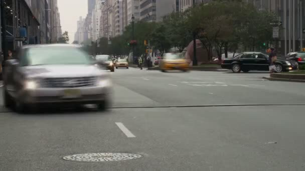 ulice New Yorku průnik