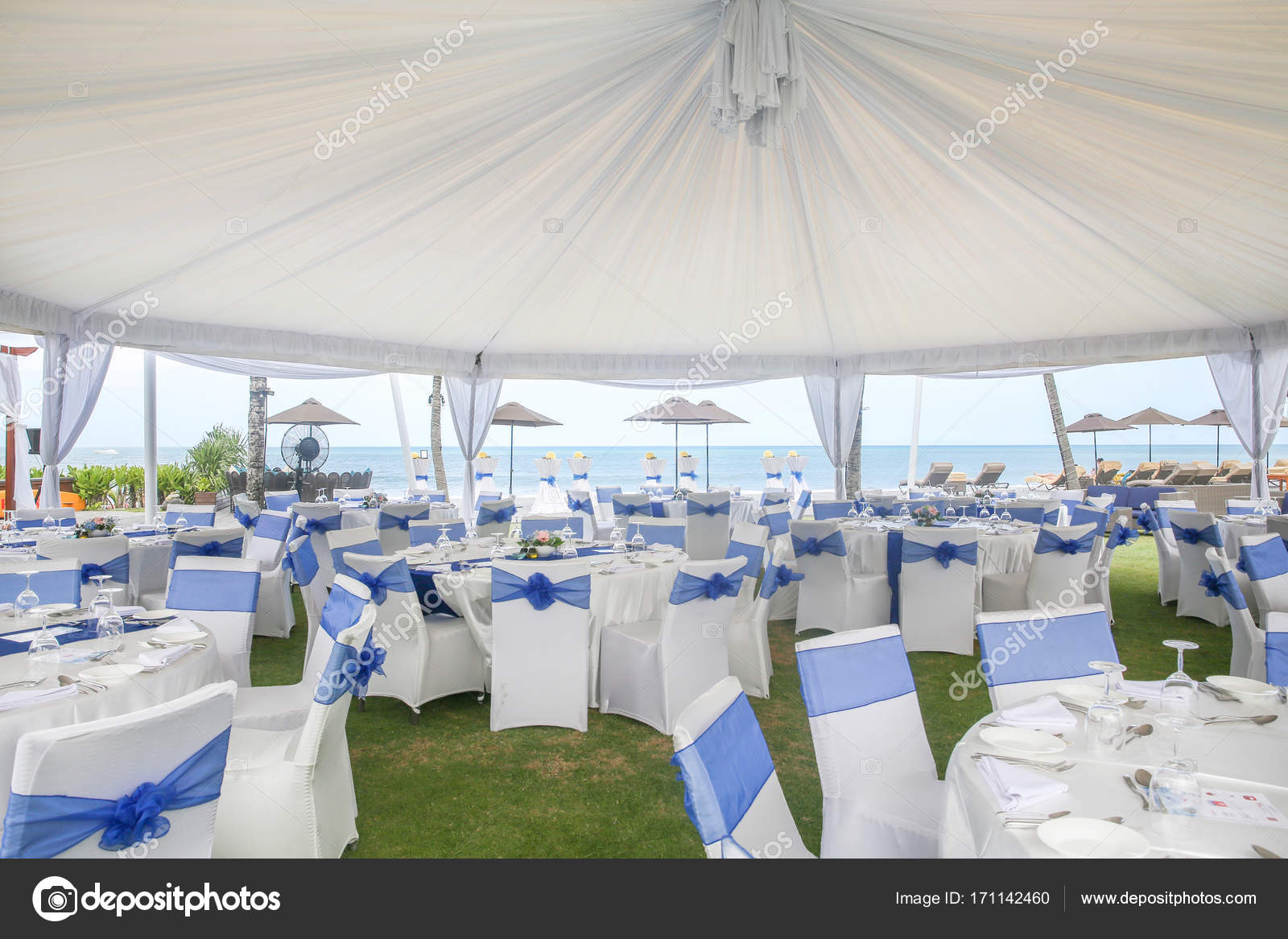 Party Or Wedding Set Up Stock Photo Spacecat 171142460