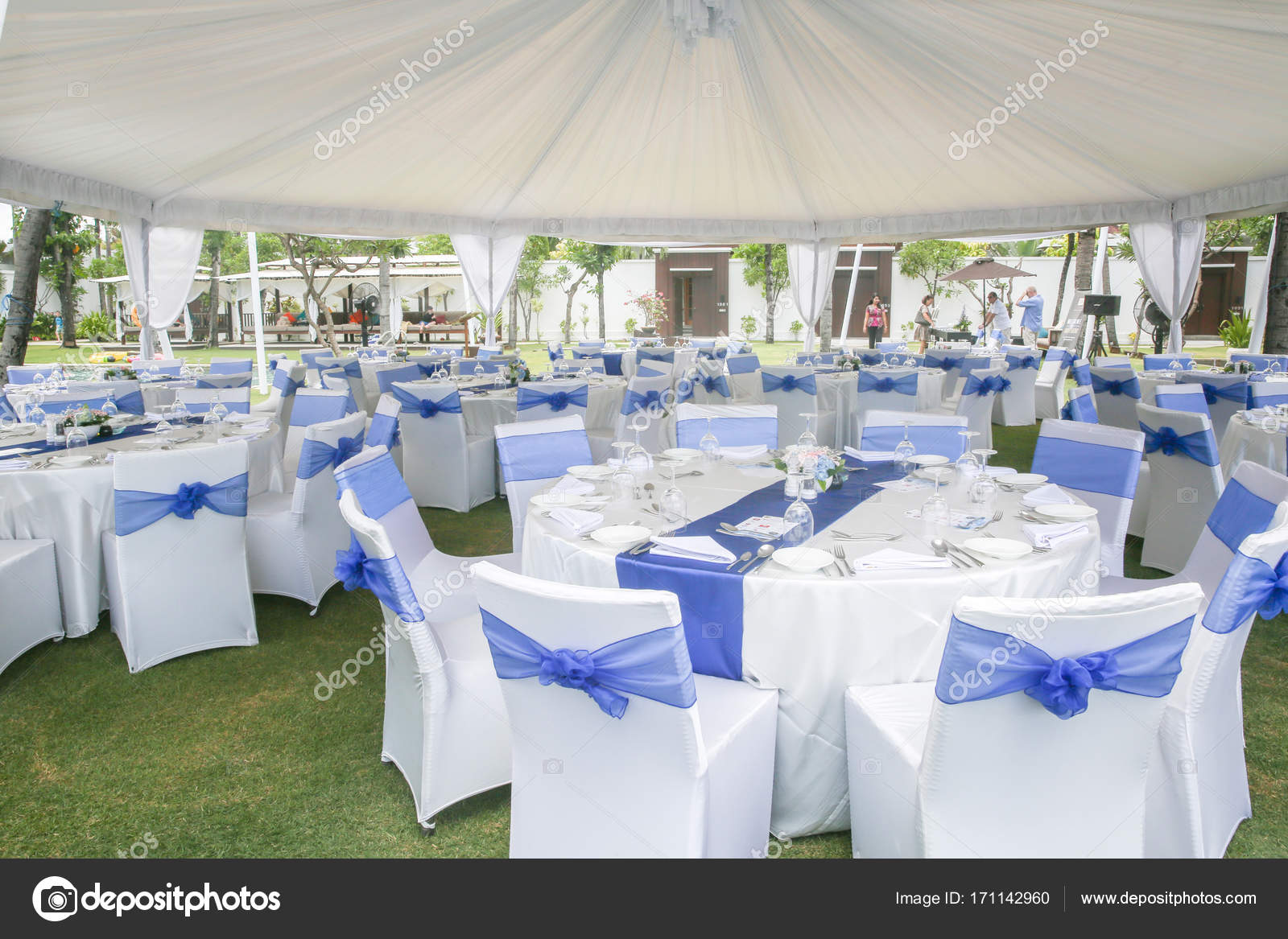 Party Or Wedding Set Up Stock Photo Spacecat 171142960