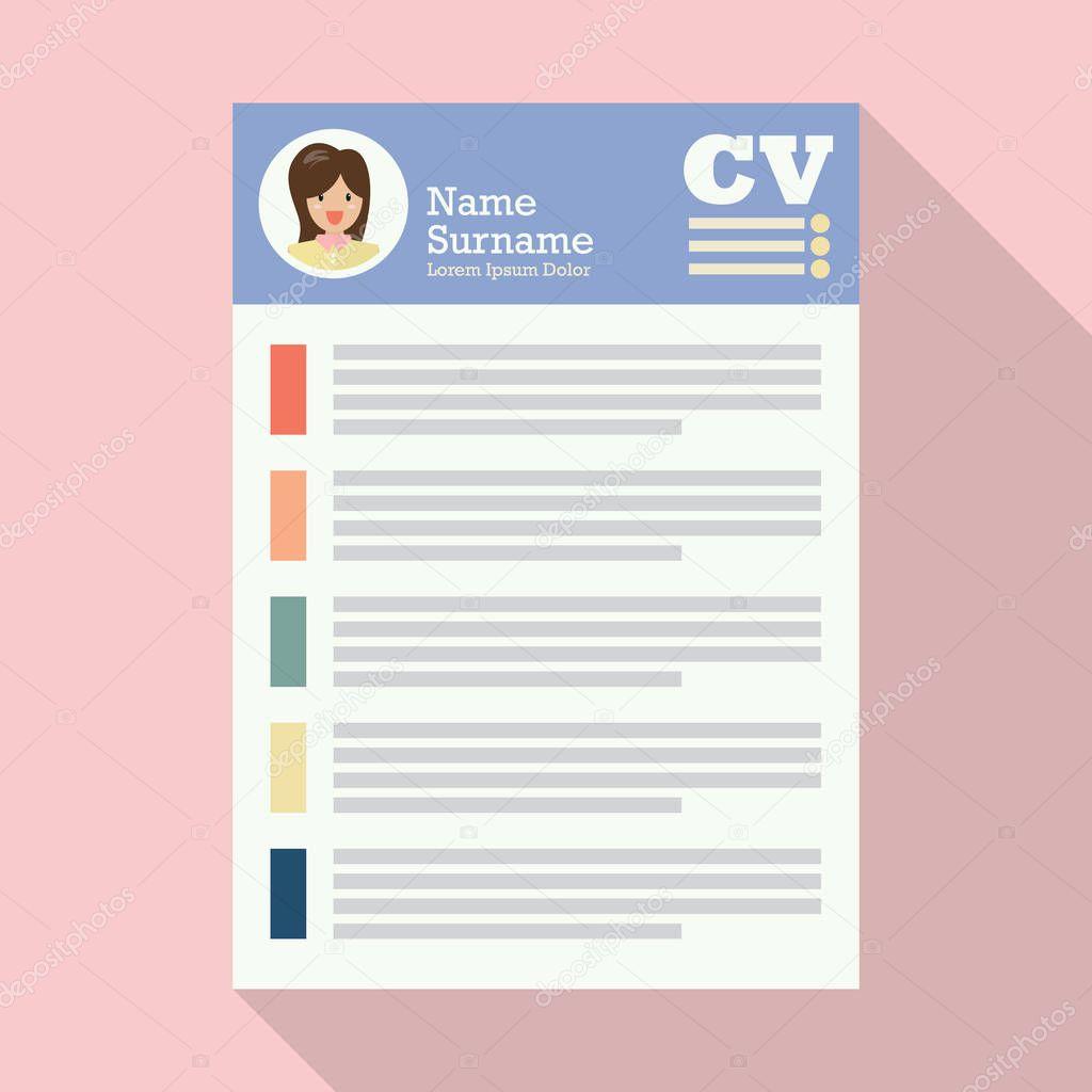 Contemporáneo Escribir El Papel Del Curriculum Vitae Componente ...