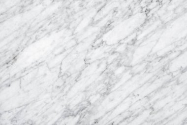 White Carrara Marble natural light surface for bathroom or kitch