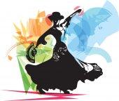 žena flamenka
