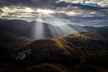 Carpathian mountains countryside