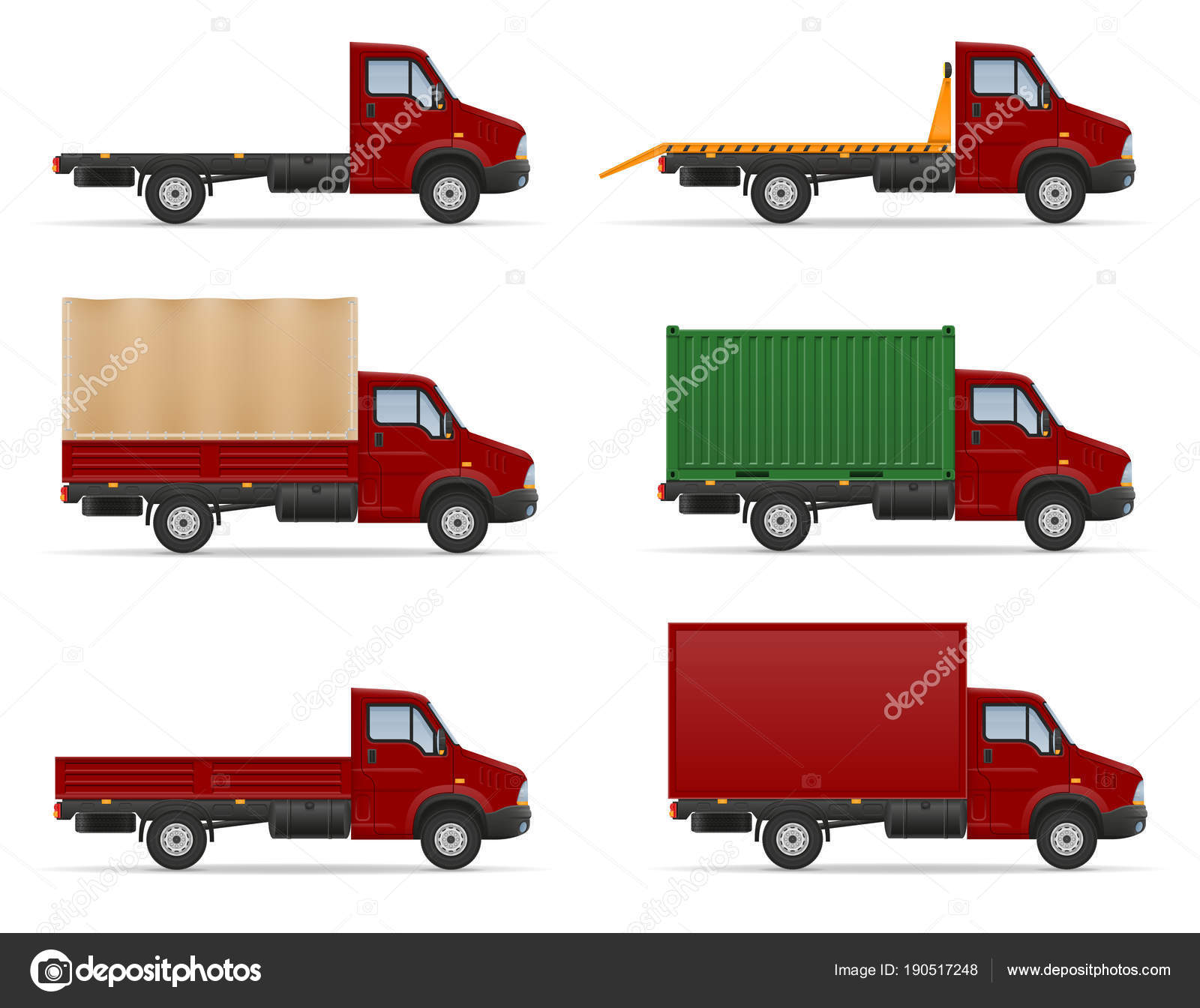 Camión De Camioneta Van Para Transporte De Mercancías De