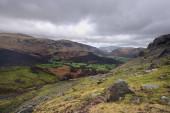 Winter über dem Borrowdale-Tal