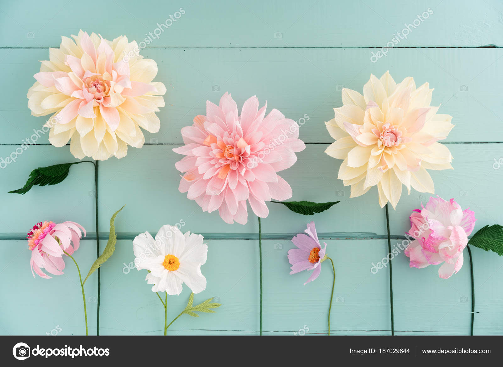 Fotos Flores De Papel Crepom Flores De Papel Crepe Foto De - Flores-de-papel-crepe