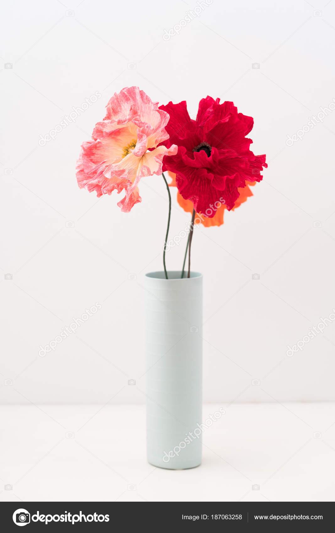 Papaveri Di Carta Crespa crepe paper poppies — stock photo © ecoelfen #187063258