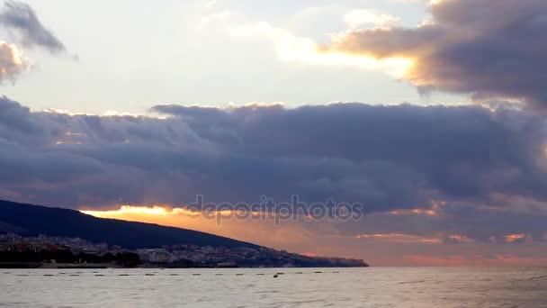 HD malebné sunrise pozadí východ slunce