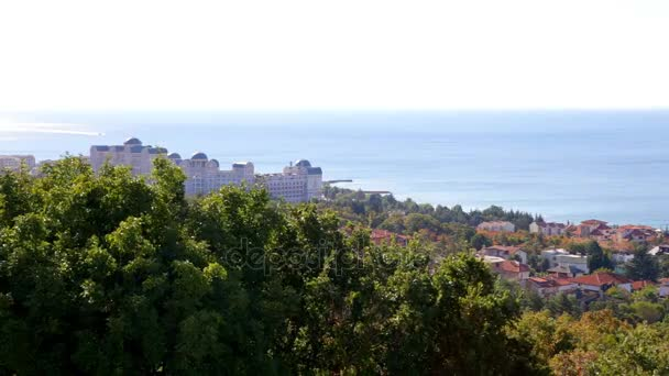 View on bay of Sunny beach resort