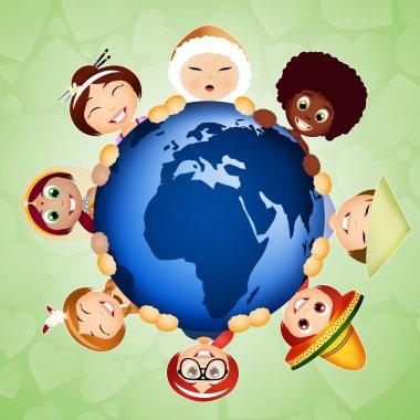 illustration of Solidarity world