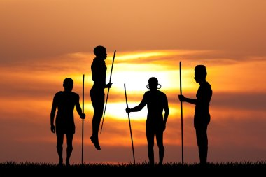 Masai traditional ritual