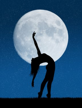 dancer in the moonlight