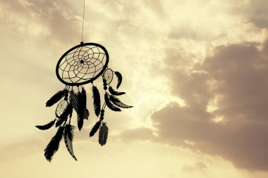 the dreamcatcher at sunset