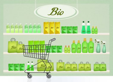 illustration of bio products