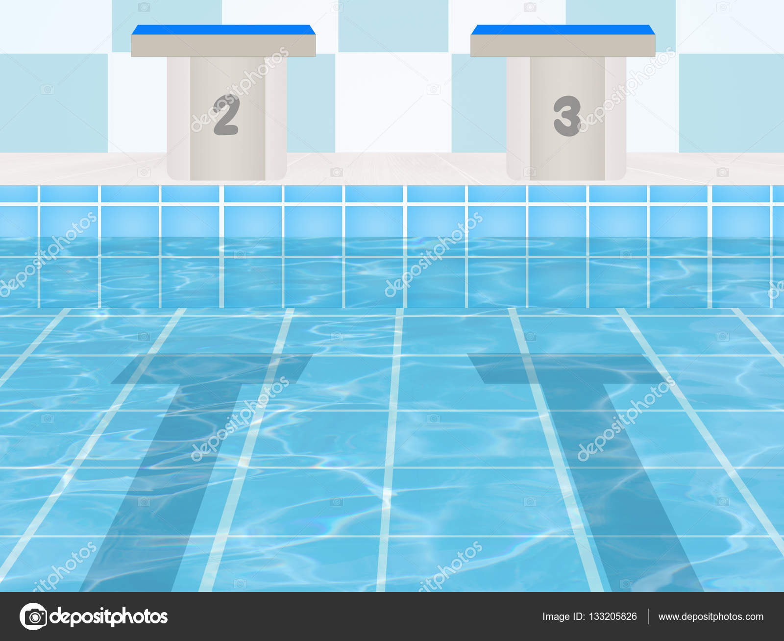 the olympic pool stock photo 133205826 - Olympic Swimming Pool Diagram