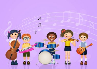 children band music