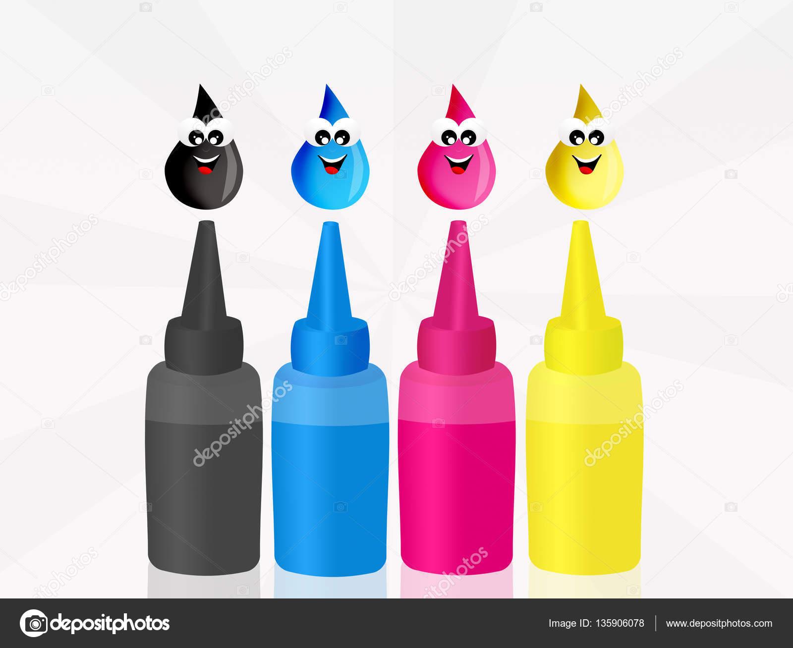 Prueba el impresora color — Foto de stock © adrenalina #135906078