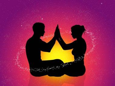 illustration of Cosmic energy