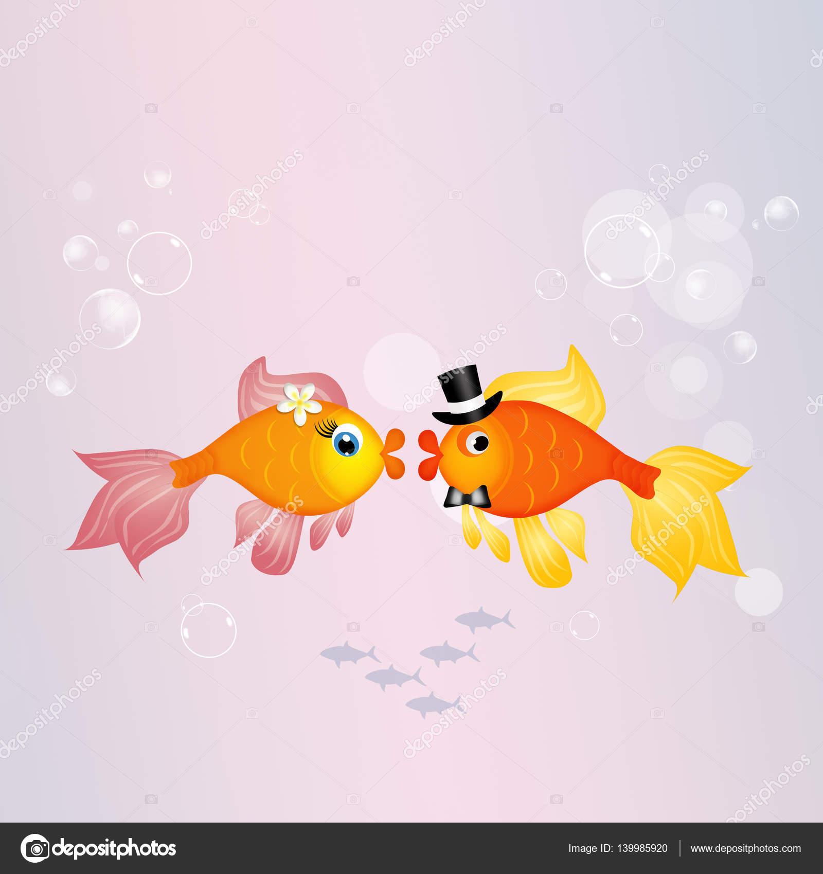 еще поздравления на свадьбу рыбки описании