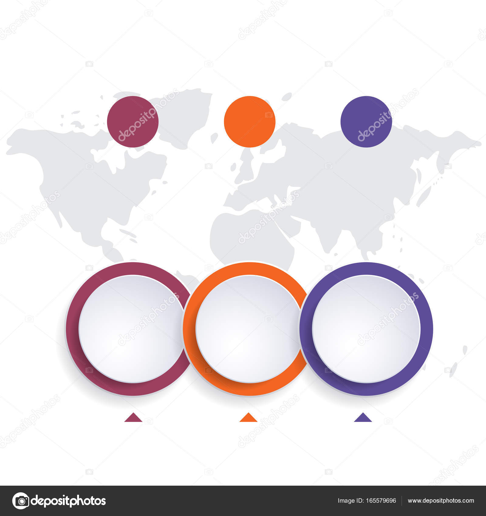Template infographic color bubble chart 3 positions stock photo template infographic color bubble chart 3 positions stock photo maxwellsz