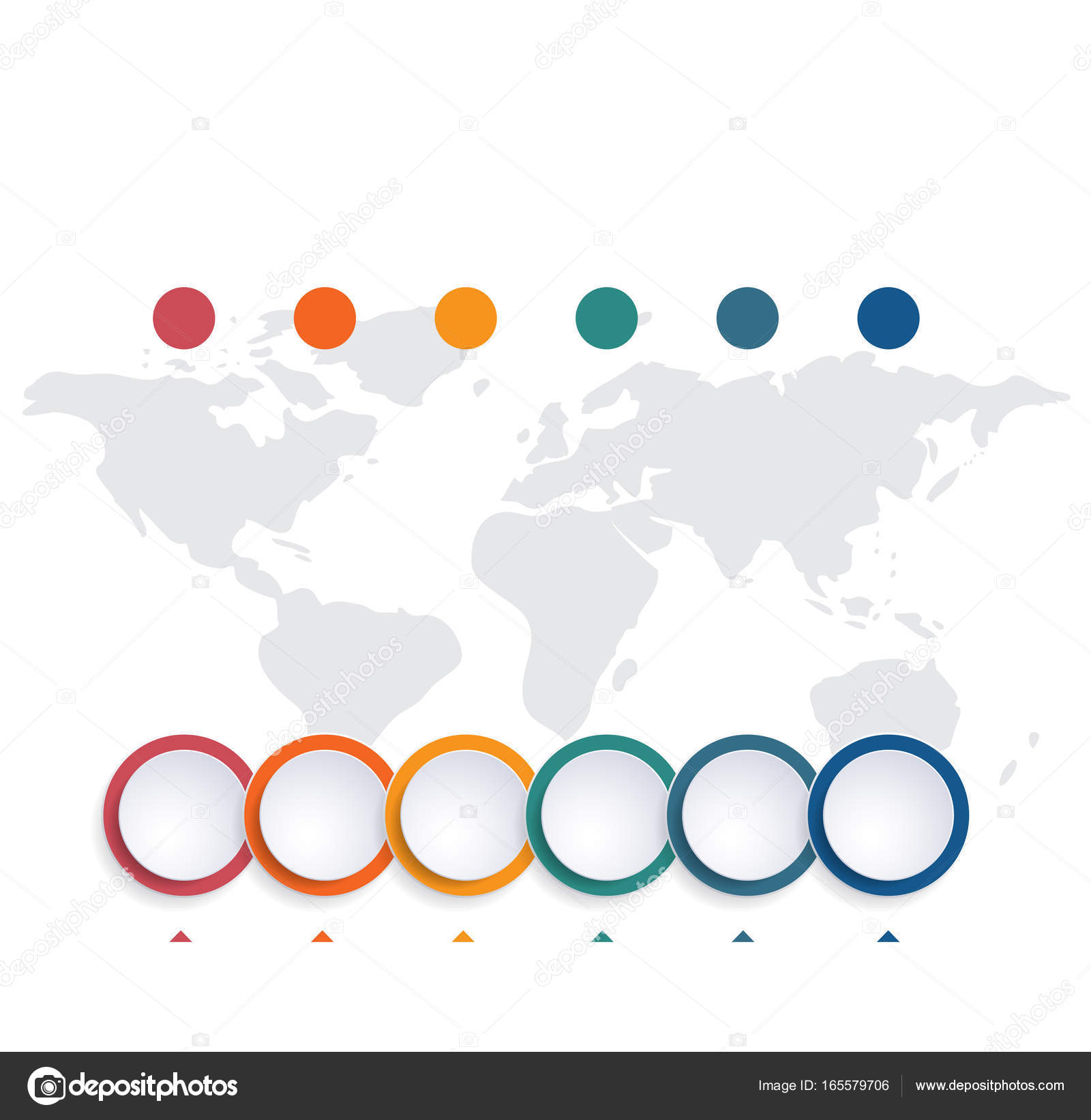 Template infographic color bubble chart 6 positions stock photo template infographic color bubble chart 6 positions stock photo ccuart Images