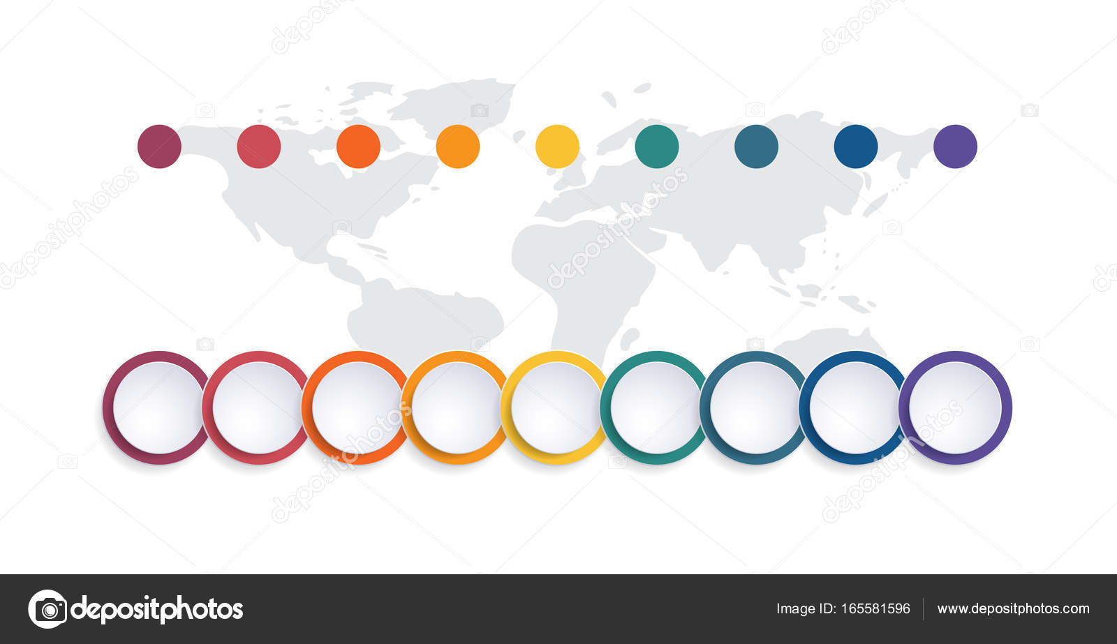 Template infographic color bubble chart 9 positions stock photo template infographic color bubble chart 9 positions stock photo ccuart Images