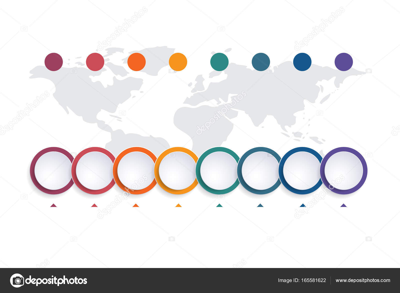 Template infographic color bubble chart 8 positions stock photo template infographic color bubble chart 8 positions stock photo maxwellsz