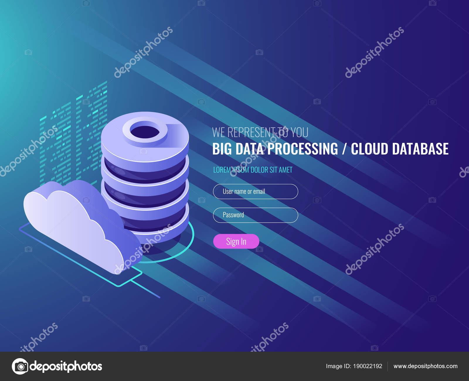 雲のデータ ストレージ サービス データベース クラウド