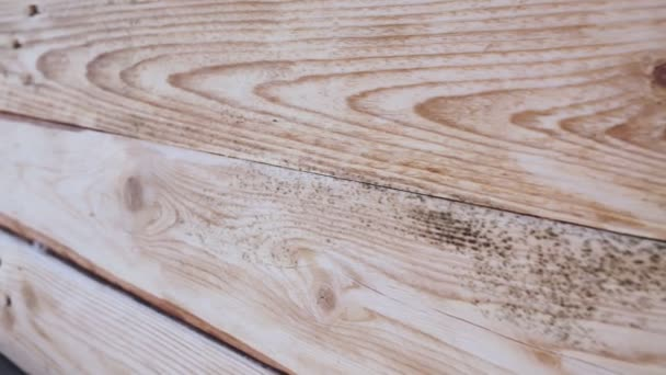 Braune Holzstruktur Hintergrundfläche mit alten natürlichen Mustern. Nahaufnahme.