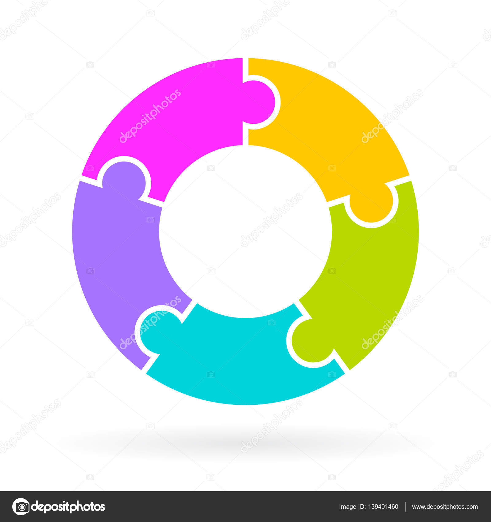 5 Steps Lifecycle Diagram Stock Vector Illustration Of Wiring Diagram