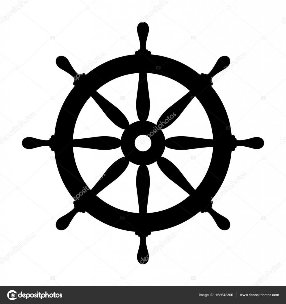 Symbol Steuerrad