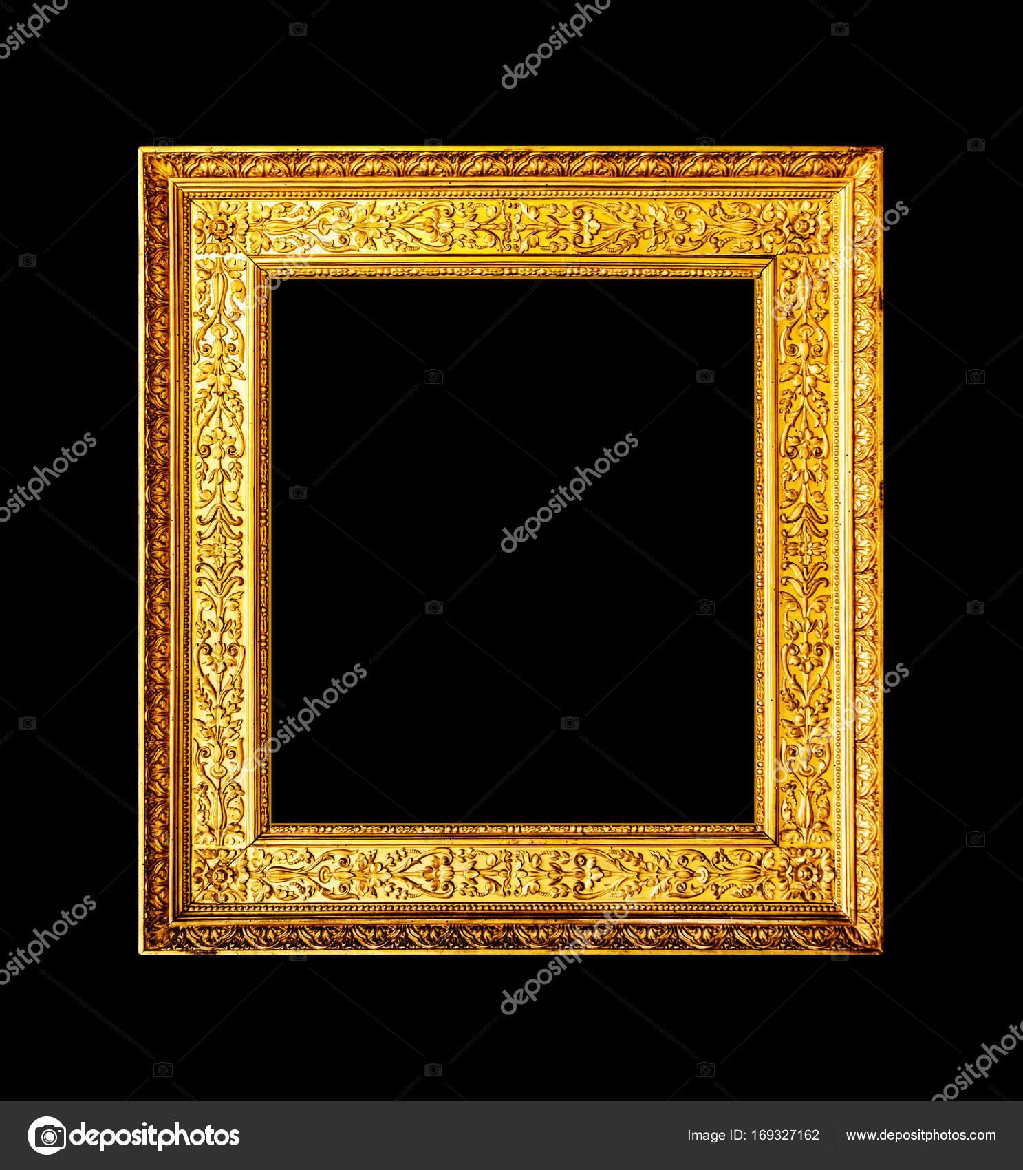 Old wood ornate frame isolated on black stock photo arcady old wood ornate frame isolated on black stock photo jeuxipadfo Images