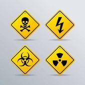 nebezpečí vektor znamení
