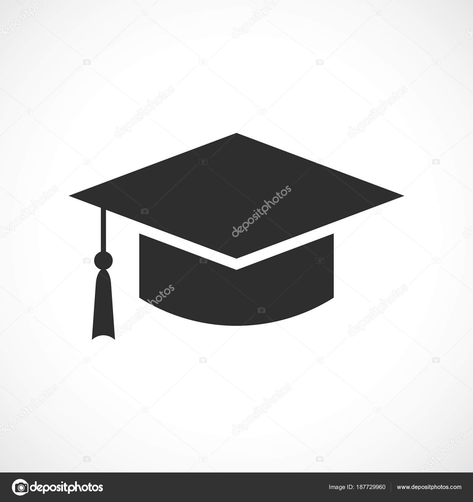 Akademiker Hut Symbol: Dem Studium Akademischer Hut-Symbol