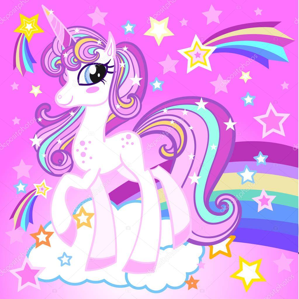 Im genes unicornio caricatura hermoso unicornio vector de stock zerlina 179231870 - Image kawaii a imprimer ...