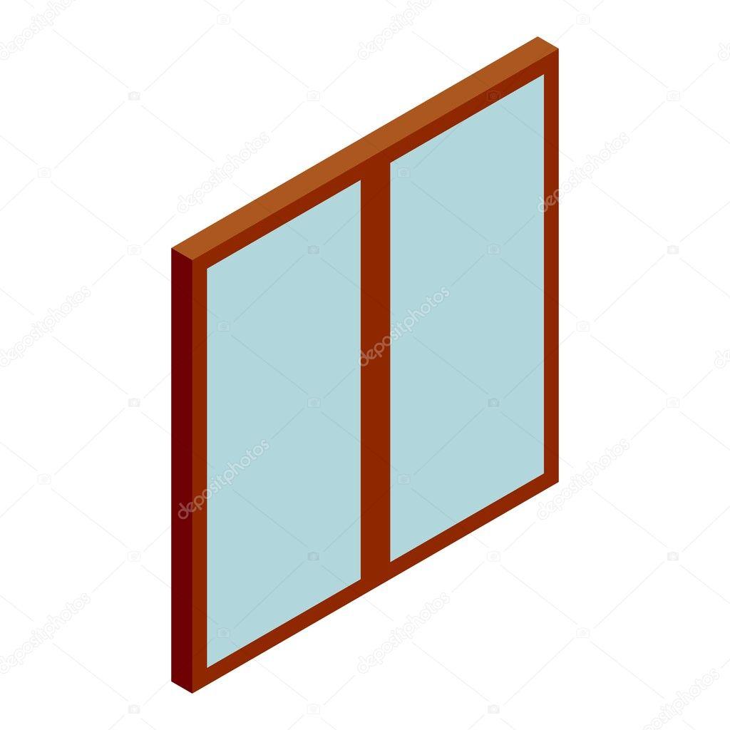 Double glass door icon cartoon style u2014 Stock Vector  sc 1 st  Depositphotos & Double glass door icon cartoon style u2014 Stock Vector © ylivdesign ...
