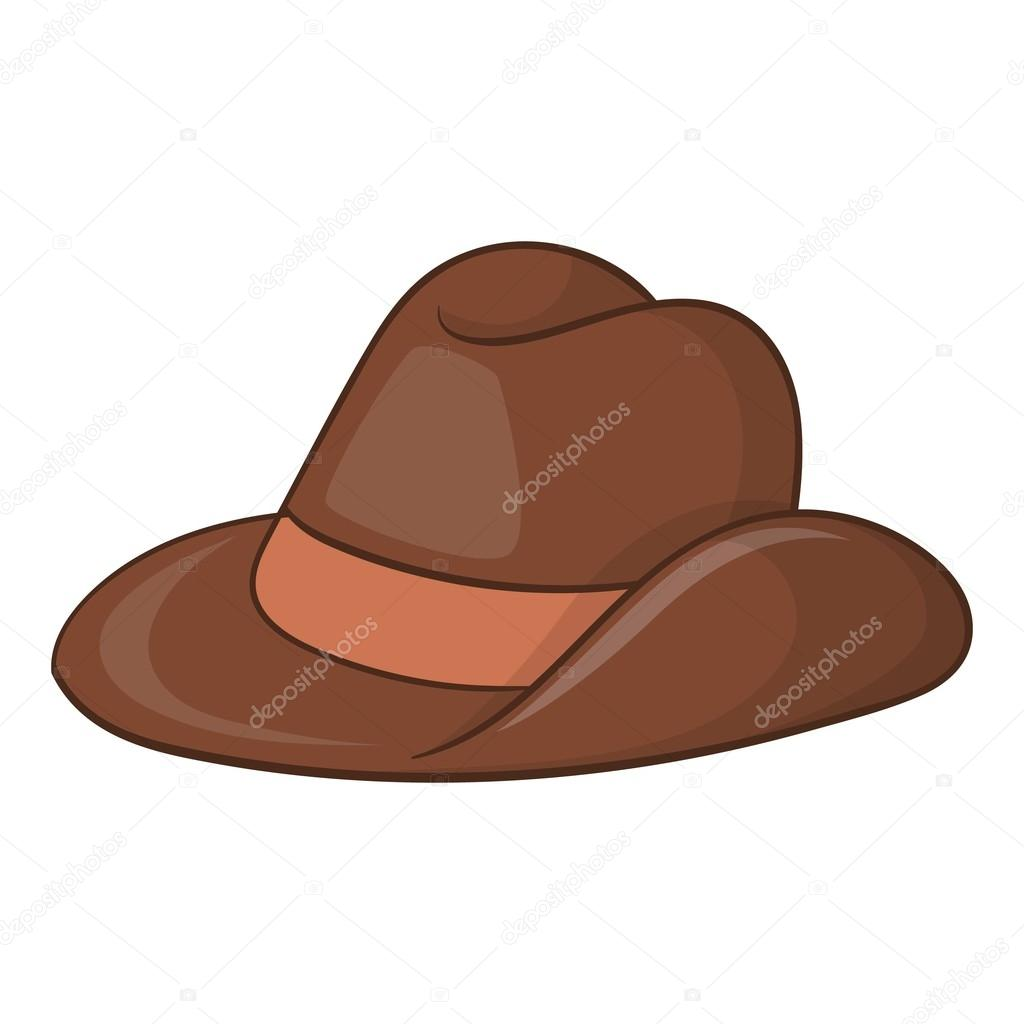 Icono del sombrero de vaquero de Australia. Ilustración de dibujos animados  de icono de vector de sombrero de vaquero de Australia para diseño web —  Vector ... 5600d061df1
