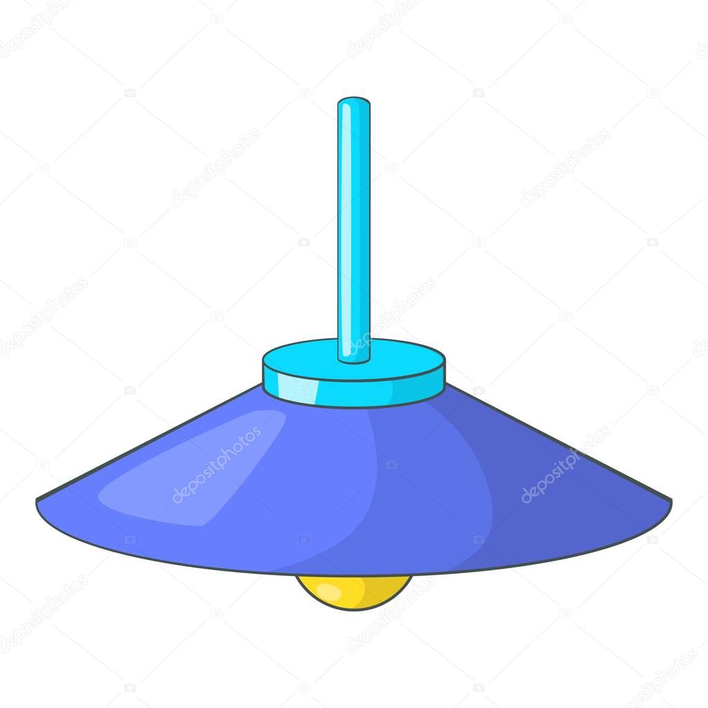 Cuelga el icono de la l mpara de techo estilo de dibujos - Imagenes de lamparas de techo ...