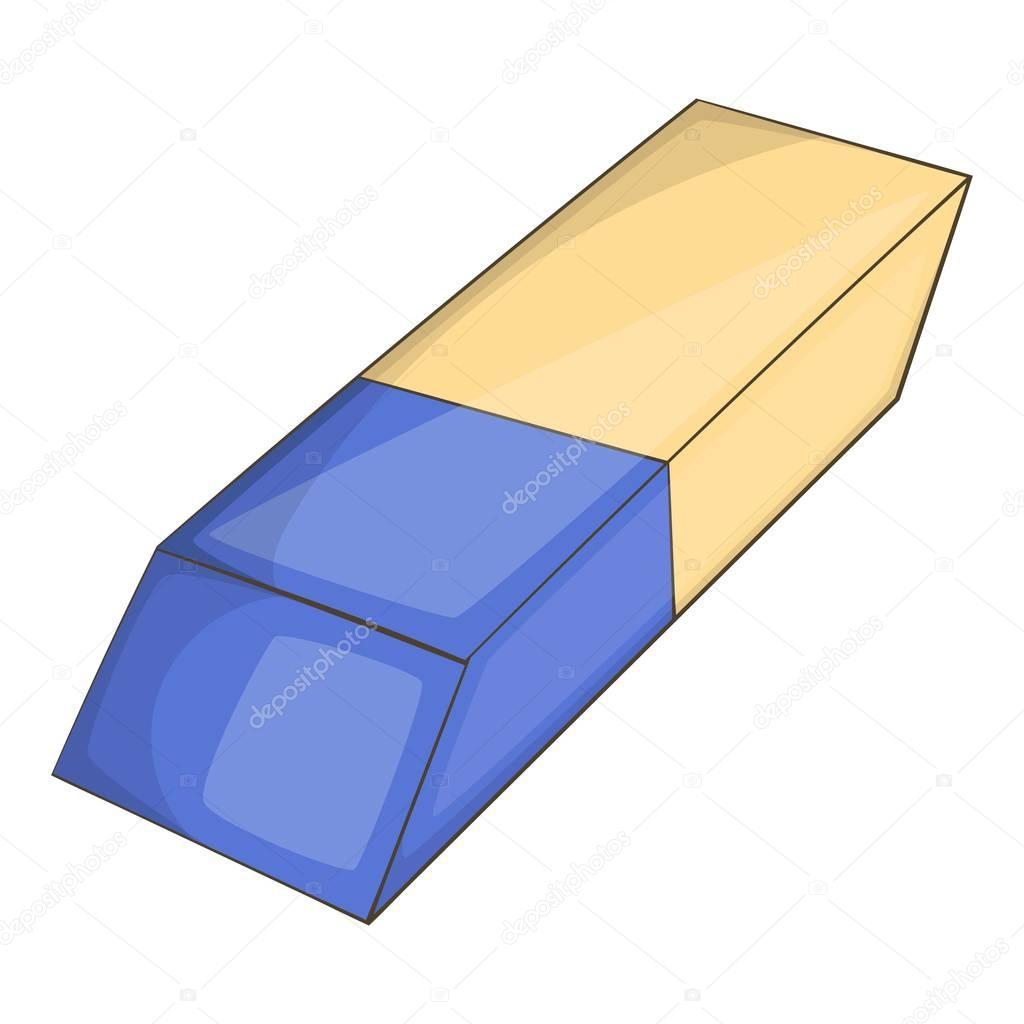 Animado Borrador Para Colorear Icono De Borrador Estilo