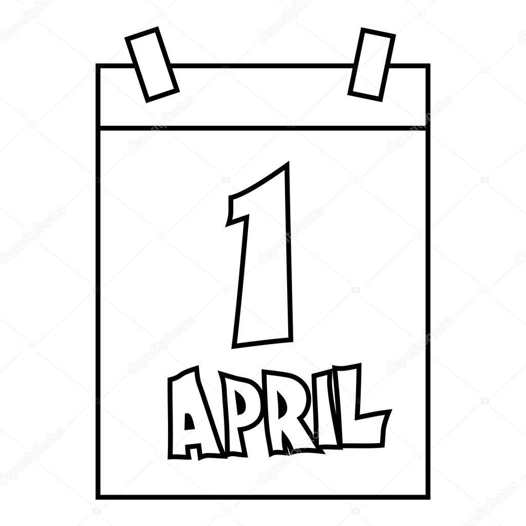 4 月 1 日エイプリルフールのカ...