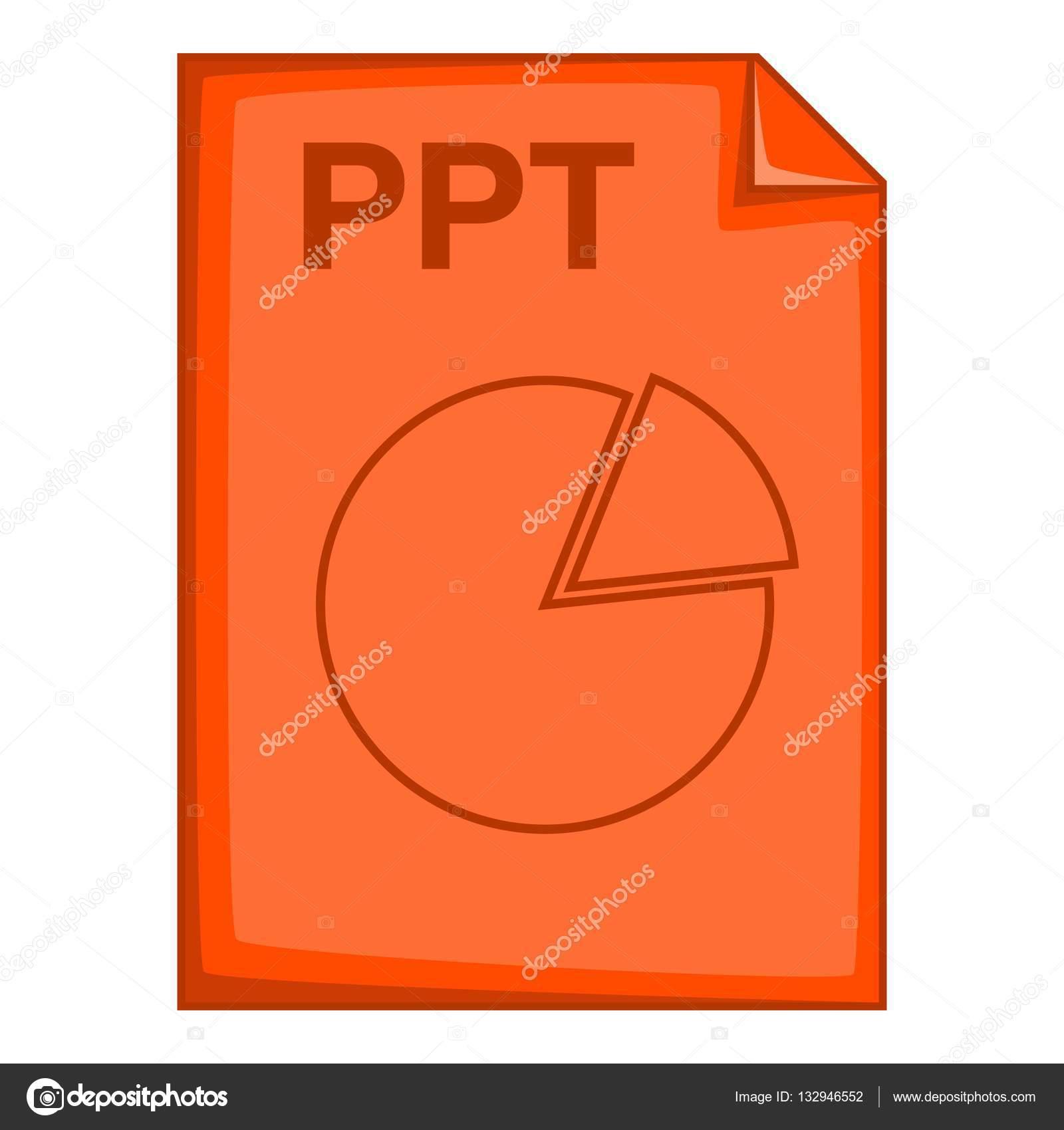 Iconos Powerpoint 2016 Icono De Archivo Ppt Estilo De