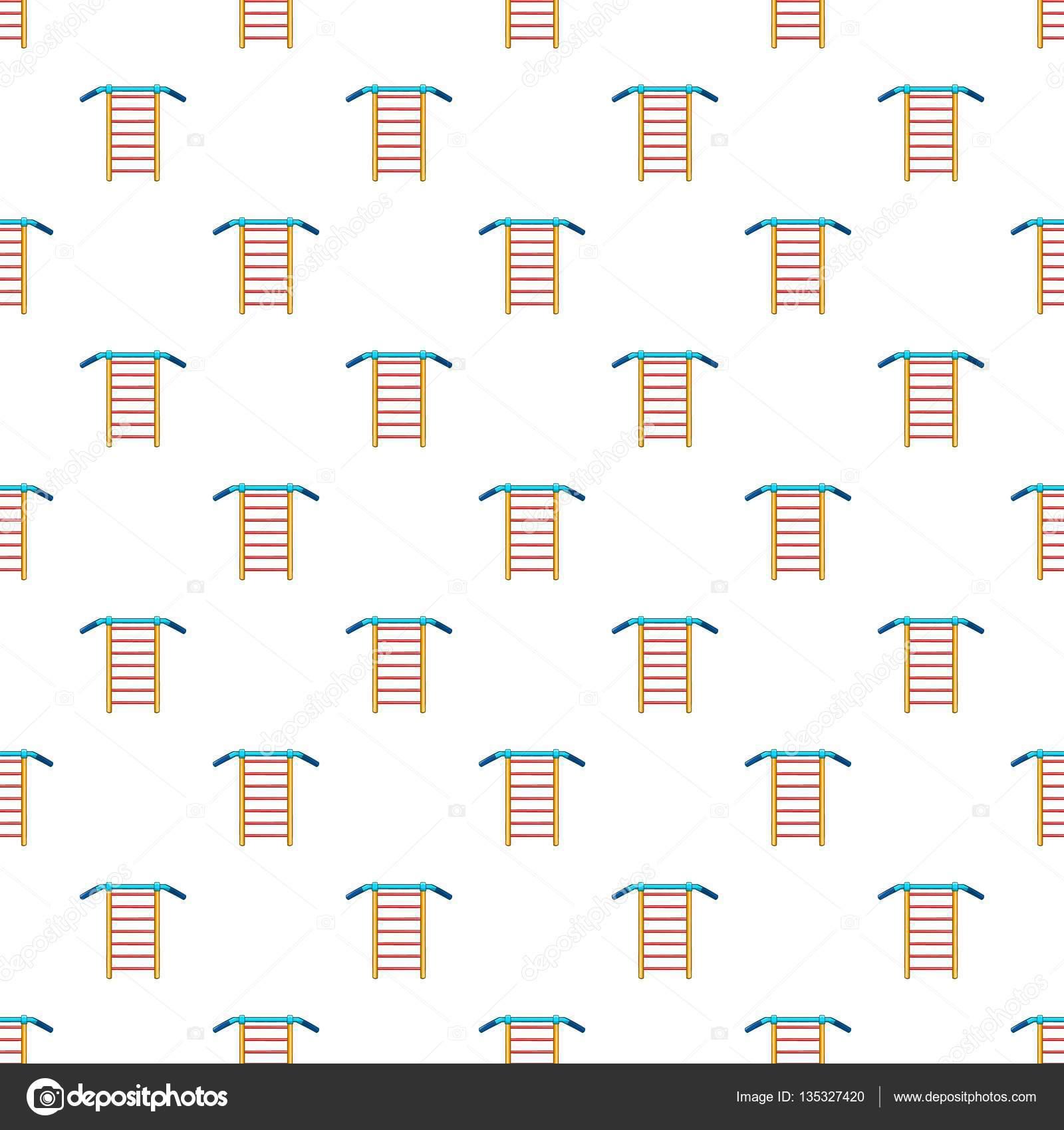 Patrón de pared sueco, estilo de dibujos animados — Vector de stock ...