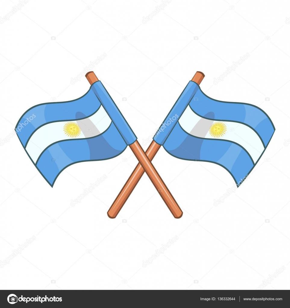 Dibujos Dibujo Bandera Argentina Cruzada Argentina