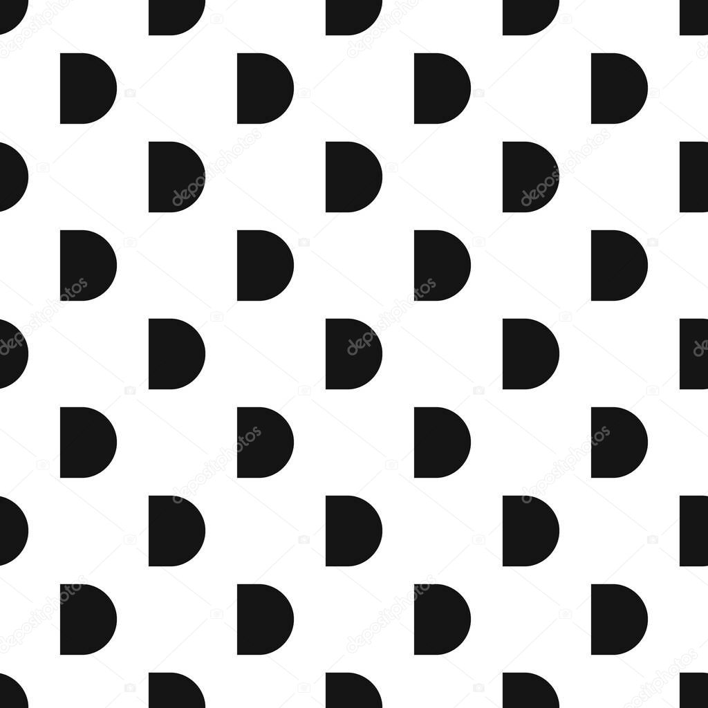 Button pattern, simple style